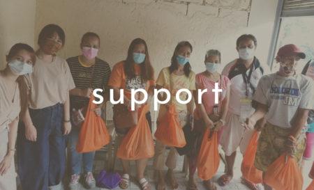 【支援活動】フィリピンオロンガポ食糧支援